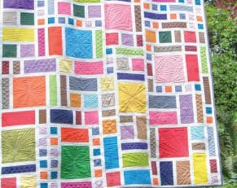 Sweet Garden Quilt Pattern by Carolina Patchworks