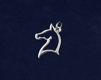 Wholesale Horse Head Charms (10 Charms) (CHARM-02-H)