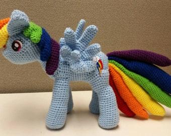 My Little Pony Plush Etsy