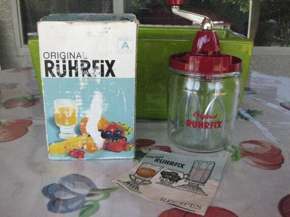 Non Electric Blender ~ Vintage non electric german mixer original ruhrfix hand