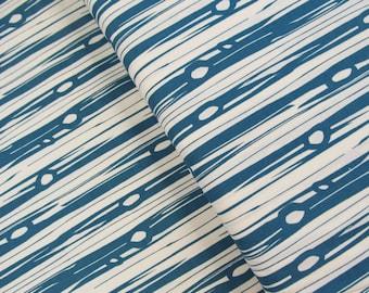 Bear Camp - Bear Bois Blue - Jay-Cyn Designs - Birch Organic Fabrics