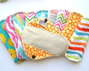 Bamboo cloth pads