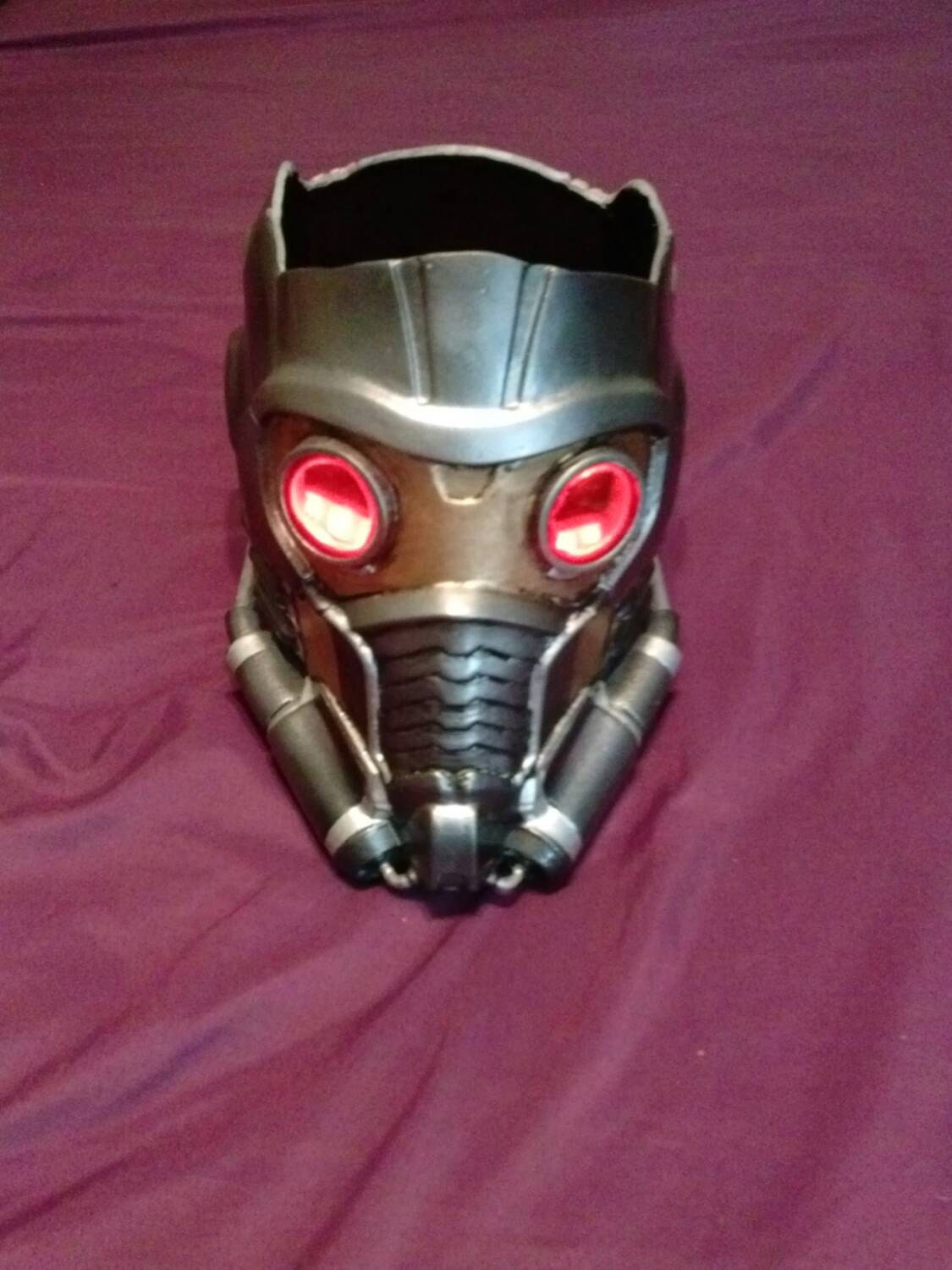 how to make a starlord helmet