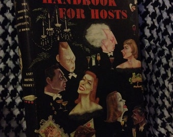 1949 Esquire's Handbook for Hosts, Hardback with Dust Jacket