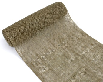"14"" x 10 Yard Burlap Roll for DIY Table Runners, Wraps, Crafts, and More - Other Colors Avaliable- Makes five 14 x 72"" runners! (BRH14-xx)"