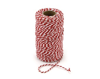 Baker's Twine for Crafts, Packaging, Stationery, and Wrapping - 2mm x 100 Meters Cording - 328 Feet - (CJTAxxxx)