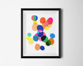 Colorful Art, Kids Art Prints, Art for Kids Room, Modern Art Print, Abstract Wall Art, Minimalist Poster, Art For Children, Art For Kids,