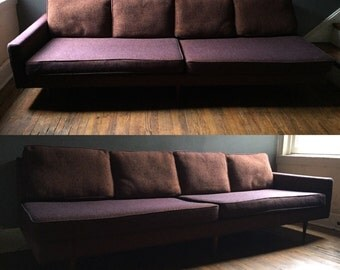 Mid century modern Milo Baughman sofa thayer coggin danish modern sofa