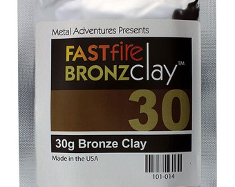 FASTfire BronzClay 30g Package  (MCB035)