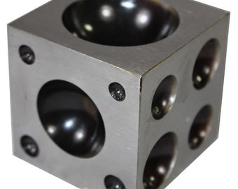 "Steel Dapping Block 2-1/2"" x 2-1/2""  (DA1250)"