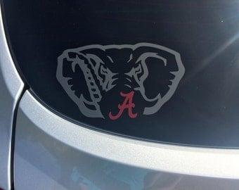 Alabama Elephant Decal