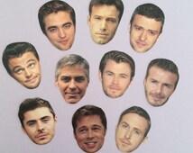 Ultimate Celeb Crush Sticker Set