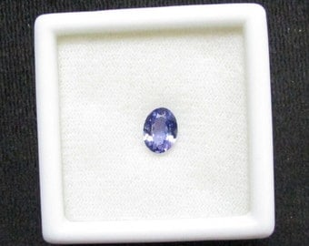 oval 6x8 mm AAA Natural genuine TANZANITE top cut faceted super quality gemstone....