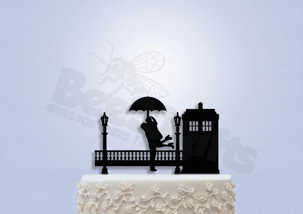 Tardis Wedding Cake Topper Tardis Wedding Cake Topper