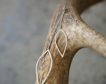 Organic Dangle Earrings
