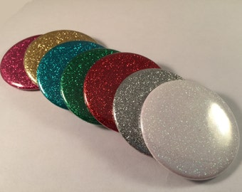 Glitter Pocket Mirrors