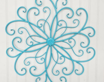 Outdoor Metal Flower Wall Art Stunning Outdoor Metal Wall Art  Etsy Design Ideas