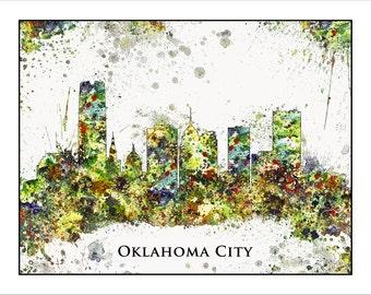OKLAHOMA CITY Skyline, Oklahoma, Map of Oklahoma, Midwest Map, Map of the Midwest,Tulsa, Oklahoma University, Sooners