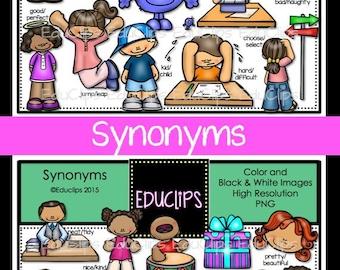Synonyms Clip Art Bundle