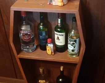 Coffin Bookshelf -- Coffin Bookcase -- Coffin Altar -- Free shipping!!!
