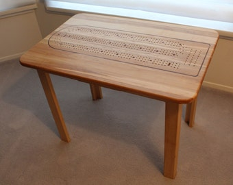 Cribbage Coffee Table