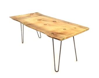 live edge table | etsy