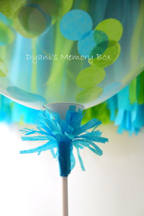 Stick and cup balloon holder by dyanismemorybox