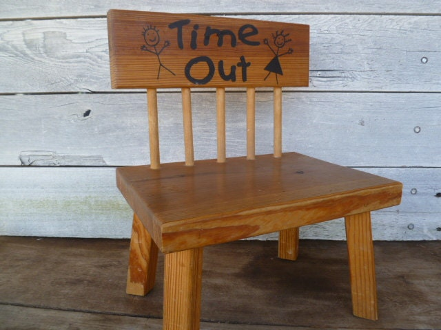 Wood Child 39 S Time Out Chair Photography Bench