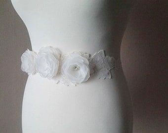 Ivory Bridal Sash Ivory Bridal Belt Ivory Wedding Sash Ivory Bridal Sash Ivory Wedding  Accessories Ivory Bridesmaids Sash Ivory Sash Belt