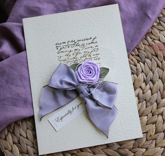 Birthday Card Girlfriend Handmade Personalised LARGE By