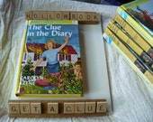 Keepsake Box - Clue In the Diary - Nancy Drew Hollow Book - Made To Order