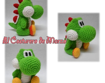 Items similar to Crochet YOSHI Amigurumi on Etsy
