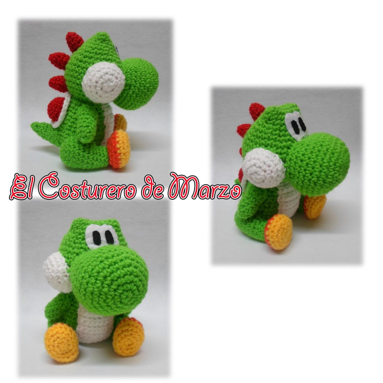 Lujo Patrón De Crochet Yoshi Elaboración - Manta de Tejer Patrón de ...
