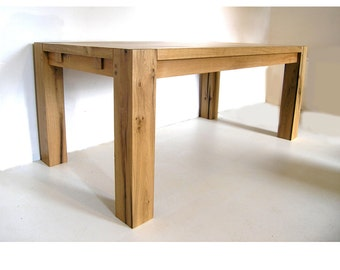 Contemporary Sustainable Oak Dining Table