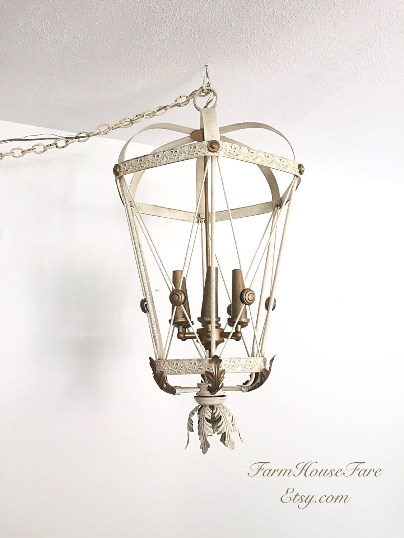 antique hanging light shabby chic chandelier large dining. Black Bedroom Furniture Sets. Home Design Ideas