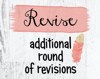 Additional Round of Revisions