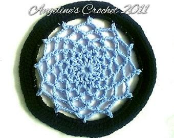 Crochet frisbee, flying doily, flying disk, soft frisbee, crochet toys, handmade toys, handmade frisbee, yarn toy, toys