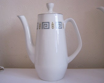 Vintage/Retro Wood & Sons Alpine White Coffeepot