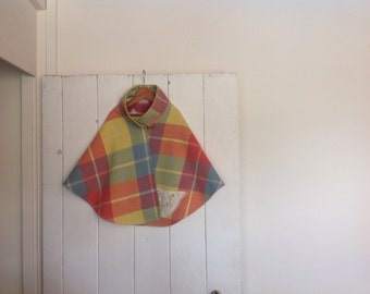 Children's Girls Woollen Cape Made to Order.Available from a size 2 to a size 10.
