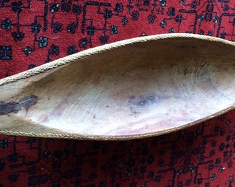 Authentic Balinese Wood Bowl