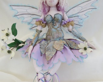 fairy art cloth doll ooak