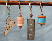 Quilting Bee Crochet Stitch Markers
