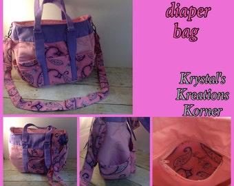 custom diaper bag #2
