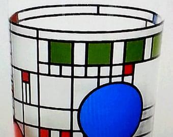 Frank Lloyd Wright Glass Tumbler