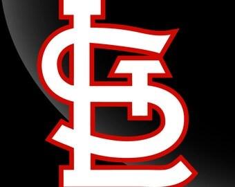 St Louis Cardinals Decal Sticker 2 Color