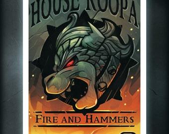 House Koopa Print