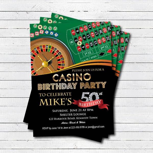 Casino invitation themed amp atlanta casino ga resort treasurebay