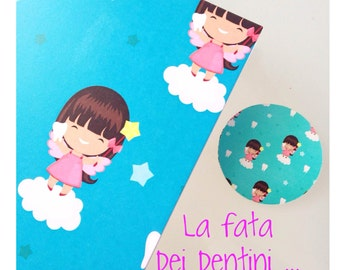 Sale * * greeting card + magnet tooth fairy