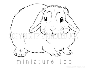 mini lop coloring pages | German Shepherd Dog Coloring Page child art adult by ...