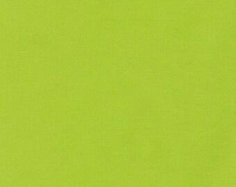 Kona Cotton in Chartreuse - Robert Kaufman (K001-1072)